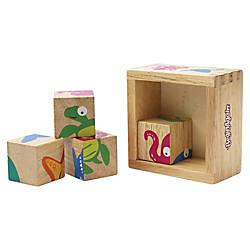 BeginAgain Toys Toddlers Sealife Buddy Blocks