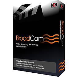 BroadCam Streaming Video Server Download Version