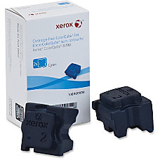 Xerox Solid Ink Stick Cyan Solid