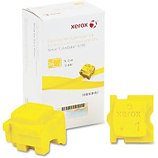 Xerox Solid Ink Stick Yellow Solid