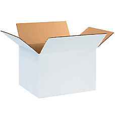 Office Depot Brand White Corrugated Cartons