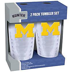 Hunter NCAA Slimline Tumblers 16 Oz