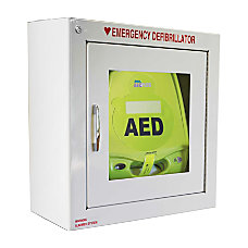 Zoll Medical AED Plus Defibrillator Alarmed