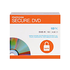 Memorex DVD R Secure Recordable Disc