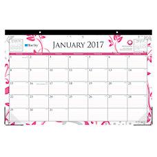 Blue Sky Desk Pad Calendar 17