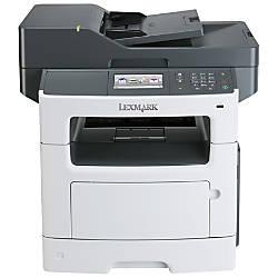 Lexmark MX517de Laser Multifunction Printer Monochrome