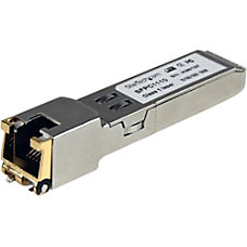 StarTechcom Cisco Compatible Gigabit RJ45 Copper