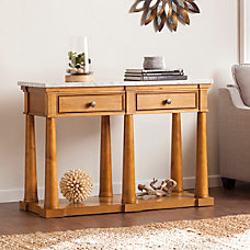 Southern Enterprises Grandview Console Table Rectangle