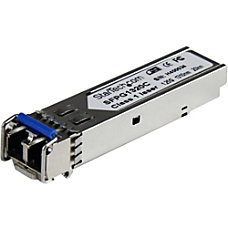 StarTechcom Cisco Compatible Gigabit Fiber SFP