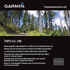 Garmin TOPO US 24K Mountain North