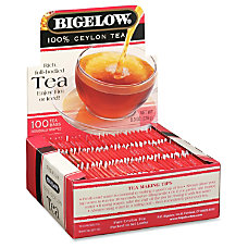 Bigelow Premium Blend Ceylon Tea Box