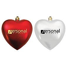 Shatterproof Heart Ornament 4