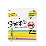 Sharpie Accent Highlighters Fluorescent Yellow Pack