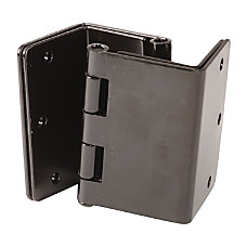 HealthSmart Expandable Door Hinges Black Pack