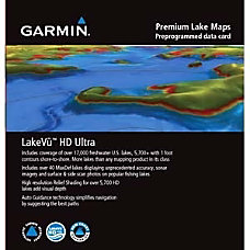 Garmin LakeV HD Ultra Marine Map