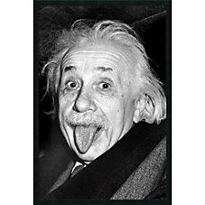 Amanti Art Albert Einstein Funny Face
