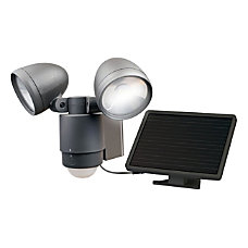 Maxsa Dual Head Solar LED Spotlight