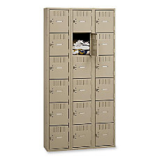Tennsco Six Tier Box Locker 3