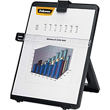 Fellowes Nonmagnetic Desktop Copyholder Black