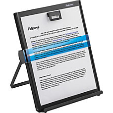 Fellowes Kopy Aid Metal Copyholder Black