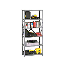 Tennsco High Industrial Steel Shelving 87
