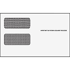 TOPS 1099 Form Double Window Envelopes