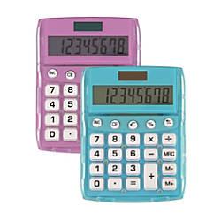 Ativa 8 Digit Desktop Calculator Assorted