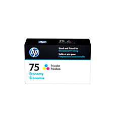 HP 75 Economy Yield Tri Color