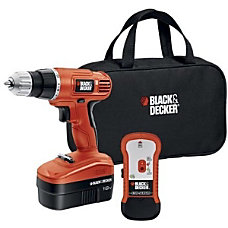 Black Decker 18V Cordless Drill with