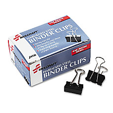 Binder Clips 14 Assorted Colors Box