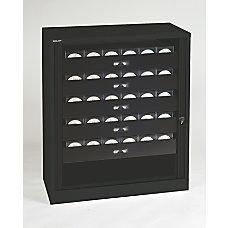 Bisley SteelPolypropylene Premium Multimedia Tambour Cabinet