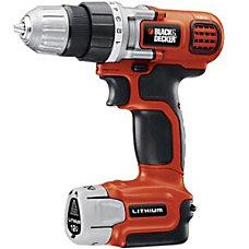 Black Decker LDX112C DrillDriver Cordless Drill