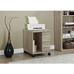 Monarch Specialties Mobile Office Cabinet 2