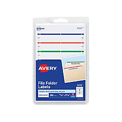 Avery Print Or Write Permanent InkjetLaser