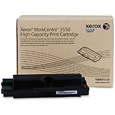 Xerox 106R01530 High Yield Black Toner