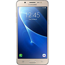 Samsung Galaxy J5 Cell Phone Gold