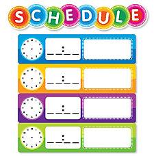 Color Your Classroom Schedule Mini Bulletin