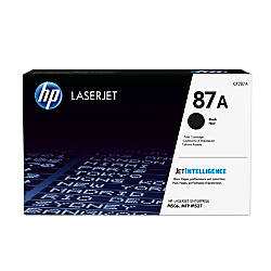 HP 87A Standard Yield Black Toner