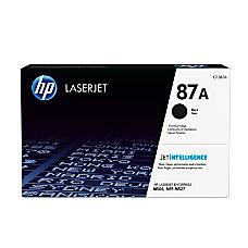 HP 87A Standard Yield Black Toner