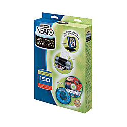 fellowes neato cd label template - fellowes neato cd labeler kit with applicator labels and