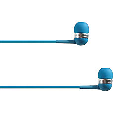 4XEM Ear Bud Headphone Blue