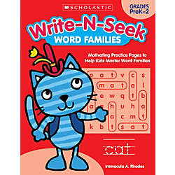 Scholastic Teacher Resources Write N Seek