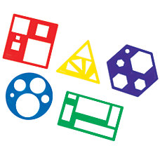 Learning Resources Primary Shapes Templates Pre
