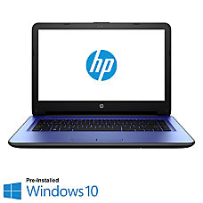 HP 14 Laptop Computer with 14