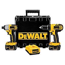 Dewalt DCK265L 18V Compact DrillImpact Combo