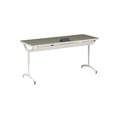 Bretford explore t leg collaborative laptop table with glides and fluid power 29 h x 60 w x 24 d - Table glides for legs ...