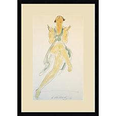 Amanti Art Isadora Duncan in Green