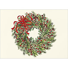 Personalized Holiday Cards With Envelopes Red
