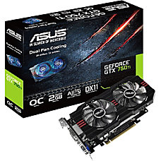 Asus GTX750TI OC 2GD5 GeForce GTX