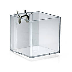 Azar Displays Cube Bins 4 H